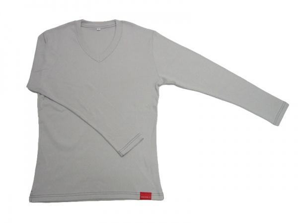 V首長袖Tシャツ